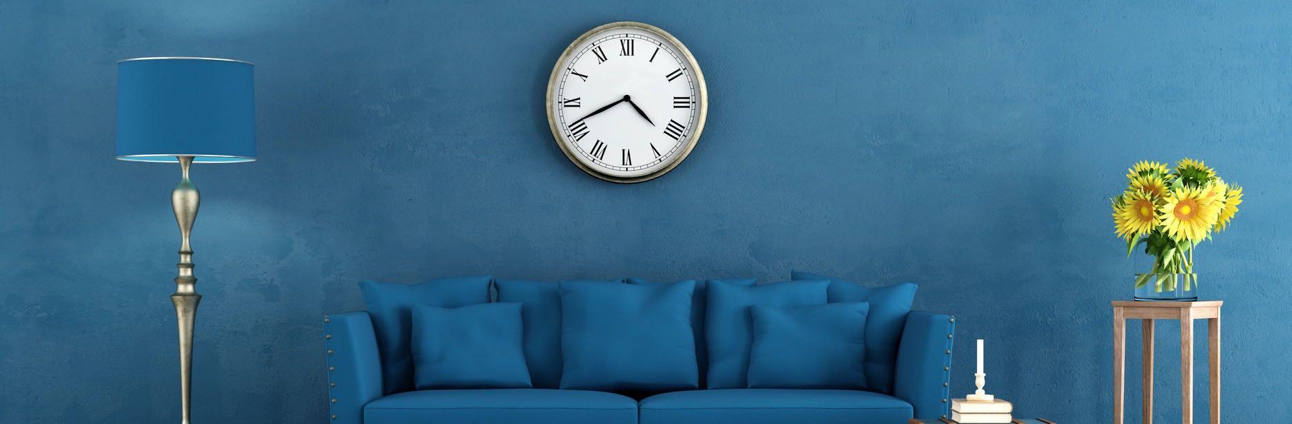 wanduhren in allen varianten wanduhren shop24. Black Bedroom Furniture Sets. Home Design Ideas
