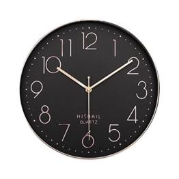 dobess-12-zoll-modern-quartz-lautlos-wanduhr-schleichende-sekunde-ohne-ticken-schwarz-gold-1