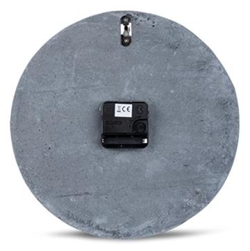 hochwertige-beton-uhr-wanduhr-in-grau-kupfer-28cm-rund-moderne-wanddeko-designer-uhr-4