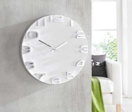 sidco-wanduhr-future-analog-3d-uhr-weiss-deko-uhr-modern-design-35-cm-1