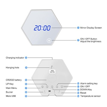 beqool-led-digital-wecker-tischuhr-wanduhr-reise-wecker-dimmbare-nachtlicht-warme-weiss-usb-batterie-aufladen-spiegel-wecker-snooze-3-alarmzeiten-einstellbar-wecker-fuer-zuhause-schlafzimmer-buero-we