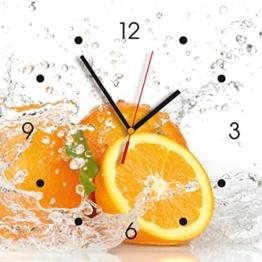 contento-866080-wanduhr-28-x-28-cm-orange-1