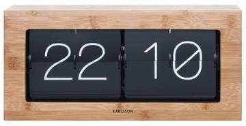 Karlsson Tischuhr XL Flip Clock KA5642WD -