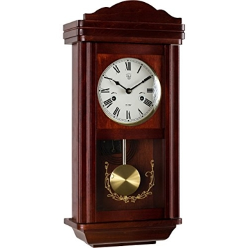 pendeluhr theseus mahagoni antik wanduhren shop24. Black Bedroom Furniture Sets. Home Design Ideas